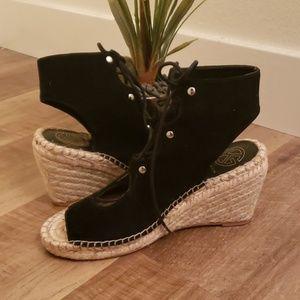 Kurt Geiger London ankle sandal espadrilles